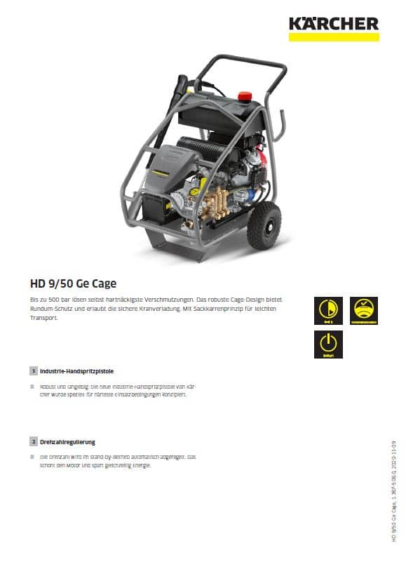 HD 9/50-4 Ge Cage